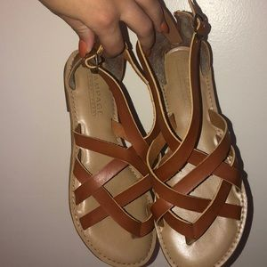 Strappy rampage womens sandal